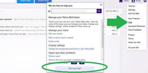 yahoo tips and tricks